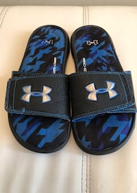 Under Armour 4D Foam Boys Slippers , Size 3  Richmond Hill, L4S 2V4