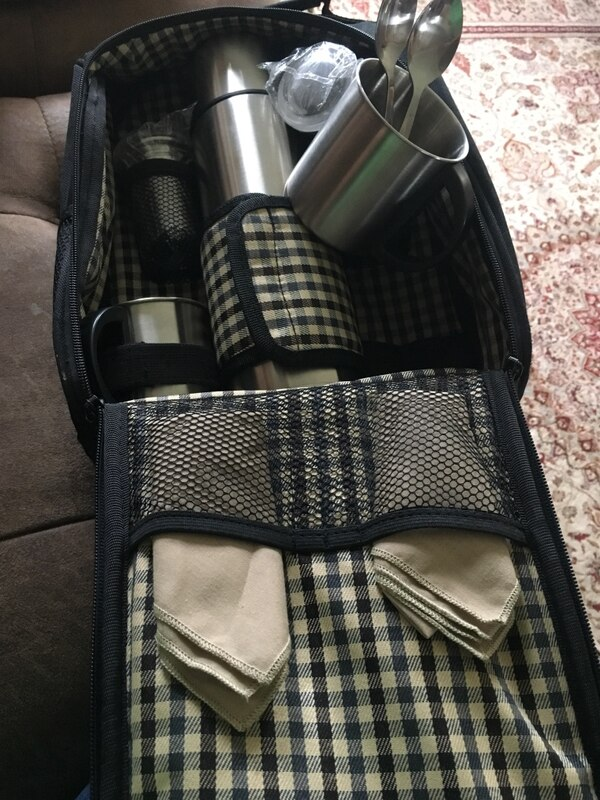 New thermos/mugs backpack
