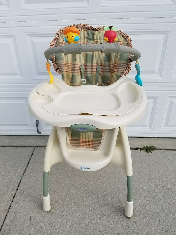 Used Graco Highchair With Full Harness System For Sale In