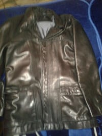 black leather zip-up jacket Manassas, 20109