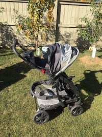 baby's black and gray stroller Calgary, T1Y 5T6