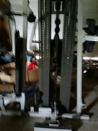 black and gray exercise equipment Madison, 53704