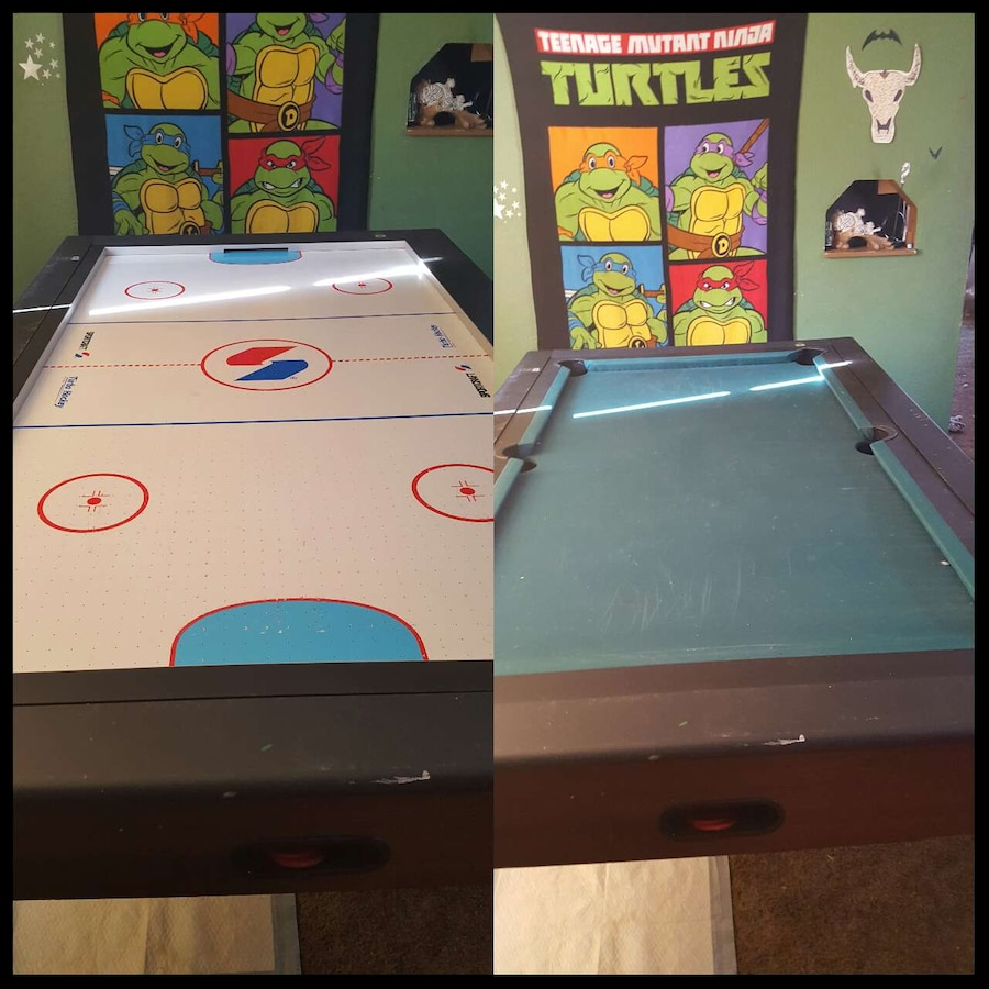 used sportcraft combo air hockey pool table for sale in bunola letgo rh us letgo com