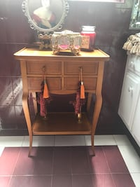 brown wooden cabinet with mirror Los Angeles, 91356