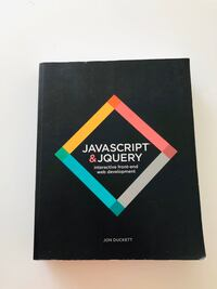 JavaScript and Jquery coding textbook