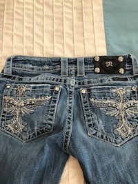Miss me jeans size 26 fit small great condition  Gainesville, 20155