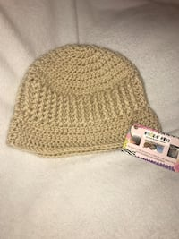 brown Hookan Away crochet beanie Cusseta, 31805