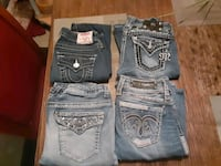 Designer Jeans Ms. Me Buffalo & Rock Revival Must fo today!! Des Moines