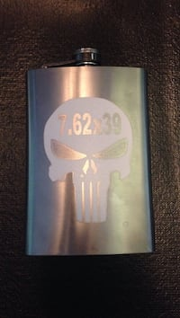 Punisher 7.62x39 flask Selkirk, 12158