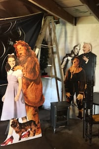 Life-size the Wizard of Oz cardboard cut outs