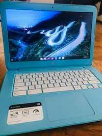Hp Chromebook 14'', Intel Celeron Processor, 4gb Ram, 16 Gb 54 km