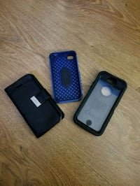 two black and blue iPhone cases Kitchener, N2G