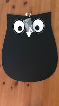 NEW / UNUSED Owl Chalkboard Abbotsford, V4X 1G5