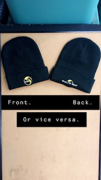 2 Matching Black WOB (World of Beer) Beanies Troutdale, 97060