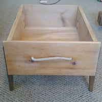 Upcycled vintage solid wood drawer planters Hamilton, L9K