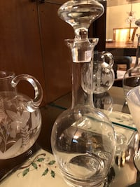 Marquis Clear glass pitcher with lid Livingston, 07039