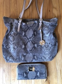Michael Kors Snakeskin bag and wallet Centreville, 20121