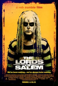 Lords Of Salem Blu Ray Mint Condition  Woodstock, N4S 8S5