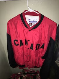 red and black Nike jersey shirt New York, 10473