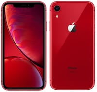 iPhone XR matte red 64 gb 1 month old