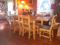Santa Fe Dining table with 6 chairs Enderby, V0E 1V0