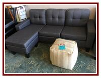 Sectional Sofa with Chaise/Ottoman San Diego