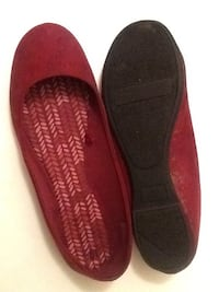 pair of red slip-on shoes Washington, 20024