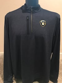 Brewers Cutter & Buck Men's Pullover, Size XL Milwaukee