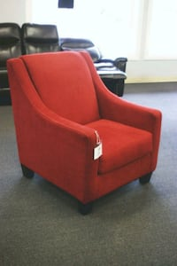 Floor model special! Rustic Red Accent Chair 502 mi