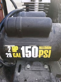 150 psi 2 horse power  electric air compressor