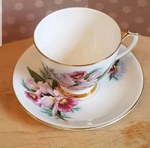 Society - made in england - tea cup and saucer