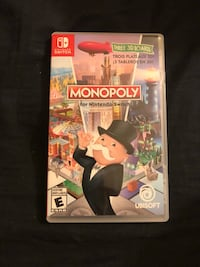 Monopoly for Nintendo switch London, N5Y 4M2