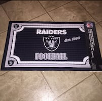 Raiders Embossed Doormat