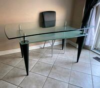 Beautiful glass table