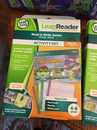 leap reader activity set of 2, system not  included Stone Mountain, 30087