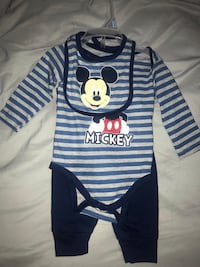 brand new Mickey Mouse outfit 3-6 months Dumfries, 22025