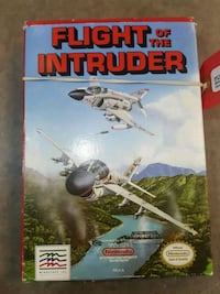 NES FLIGHT OF THE INTRUDER  Ajax, L1S 7K8