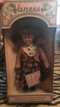 Toddler's Vanessa porcelain doll with box St Catharines, L2M 4L3