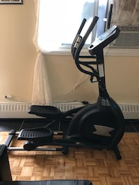 black and gray elliptical trainer Montreal, H1M 1S7