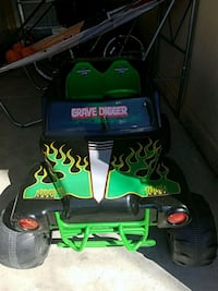 Grave digger electric truck