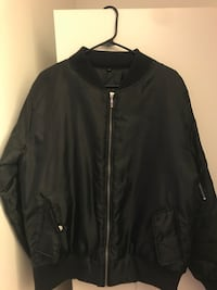 Men's black bomber jacket  San Francisco, 94132