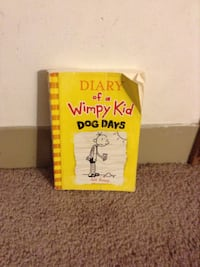 Diary of a Wimpy Kid Dog Days comic book
