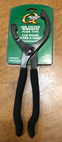 BNIB Oil Filter Wrench Plier Type BNIB