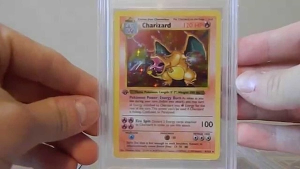Used First Edition Charizard Pokemon Card *Rare* (Mint)! for