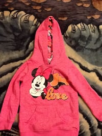 Toddler Pink Minnie Mouse hoodie size 3t