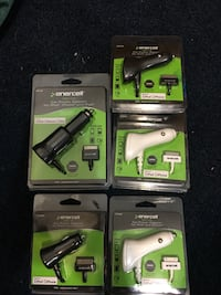 5 white and black enercell car charger Salt Lake City, 84106