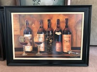 Black Framed Oil Painting Wine Great Falls, 59405