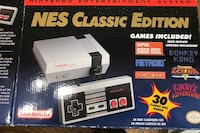 NES CLASSIC EDITION Mini Console with 2 WIRELESS CONTROLLERS Hyattsville, 20781