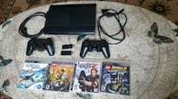 Used PS3 Super Slim With Games and Controllers Surrey, V3R 4B3