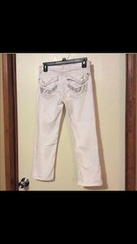 Union Bay White Denim Capri Cropped Jeans size 0 Ville Platte, 70586